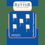 Hotel Retter Auszeichnung 5 Flipchart Logo
