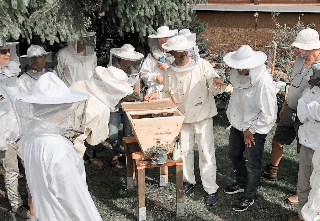 Imker Bienenhaltungskurs Biohotel Retter