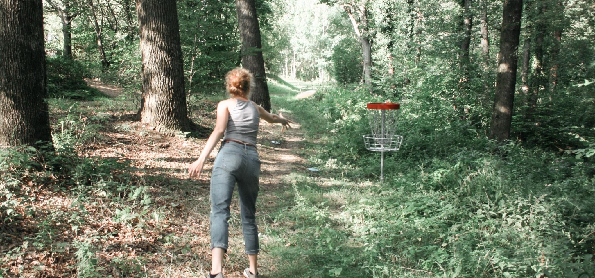 Disc Golf spielen rund um das Biohotel Retter