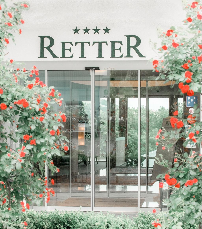 Hoteleingang Biohotel Retter