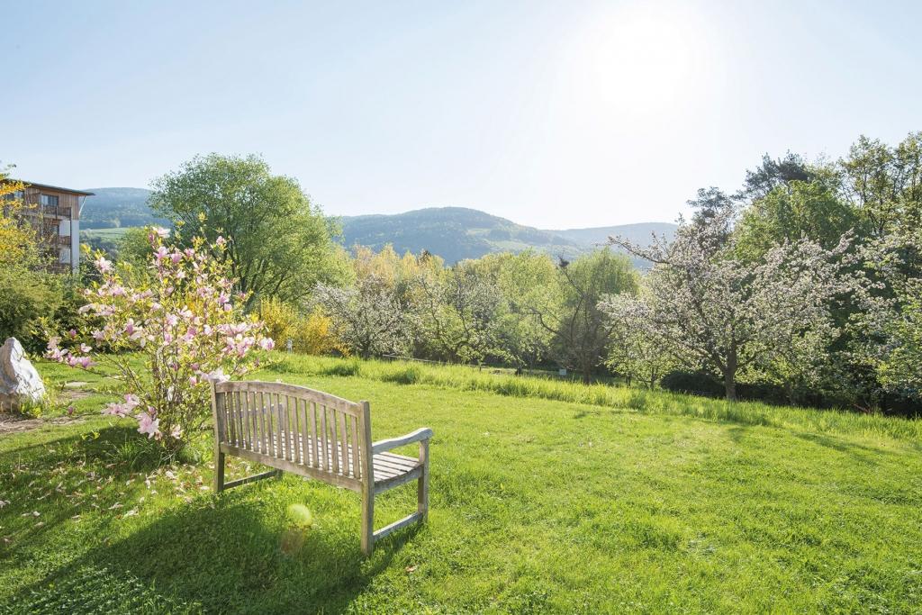 Garten, Naturpark Pöllau, Retter, Biohotel, Naturhotel, Wanderurlaub