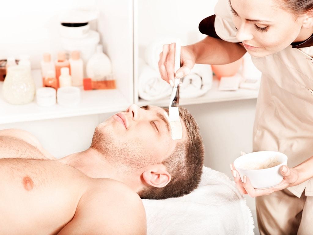 Gesichtsbehandlung für Männer im Wellnesshotel Retter