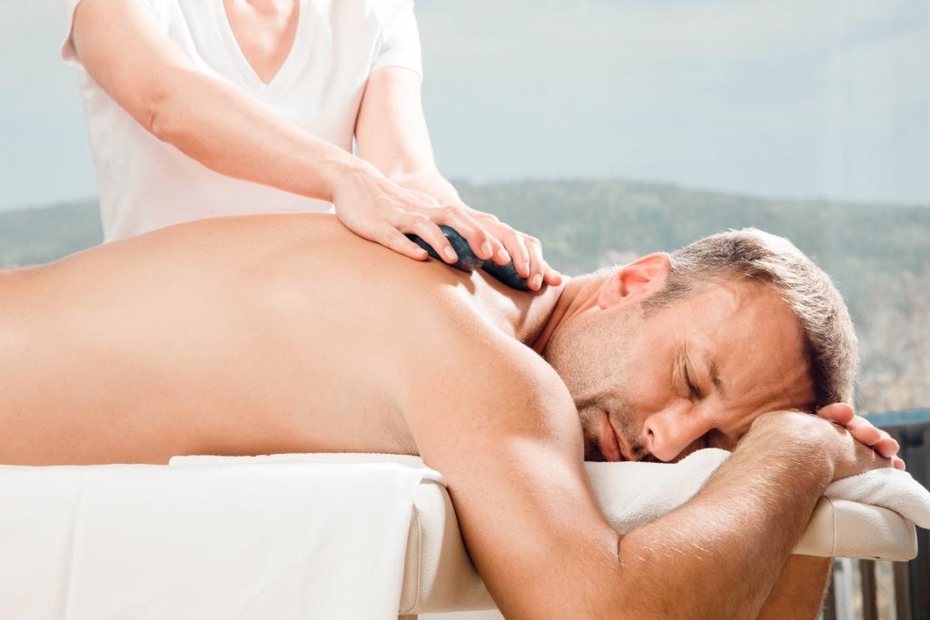 Massage für Männer im Wellnesshotel Retter