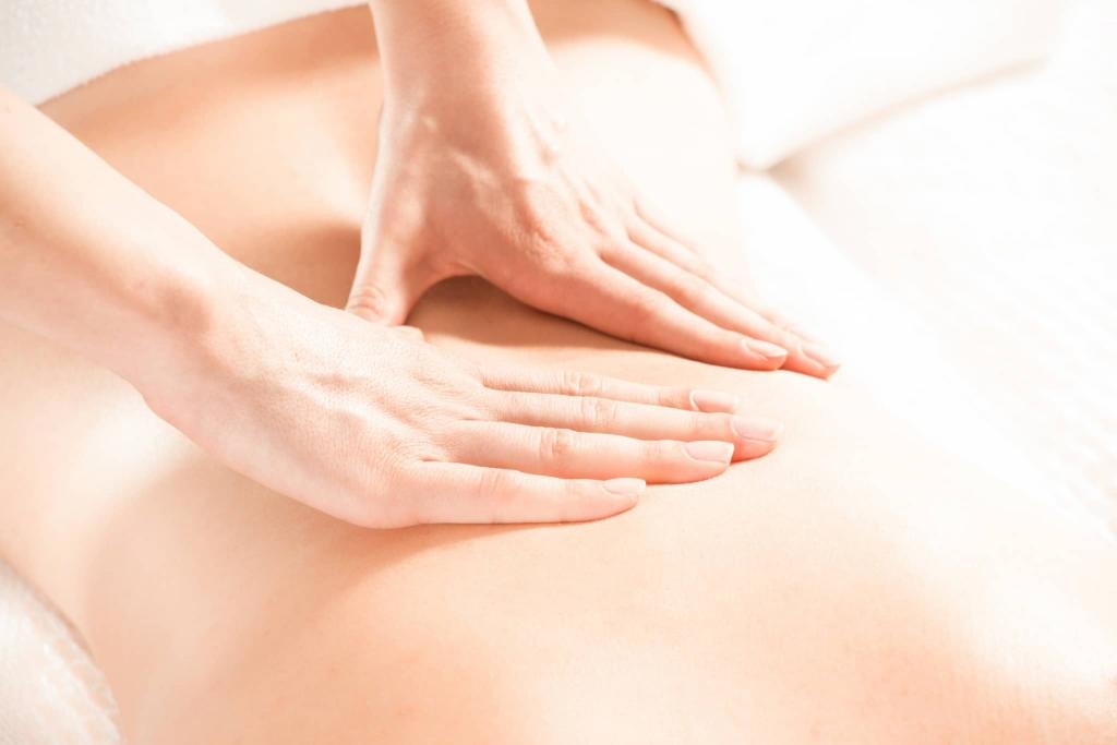 Rückenmassage im Wellnesshotel Retter