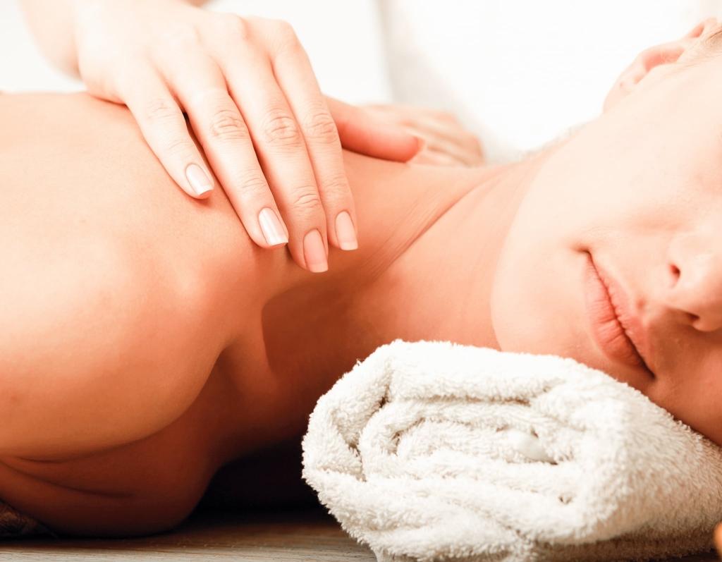 Massage, Nackenmassage, Wellness, Entspannung