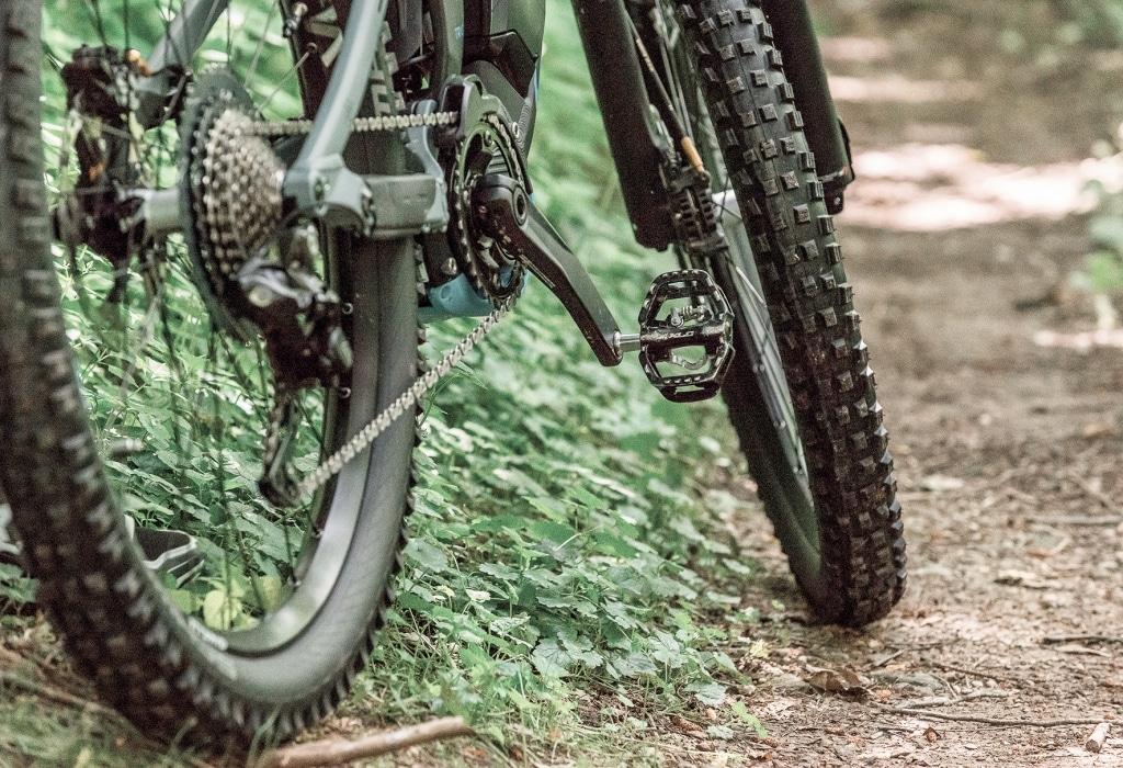 Details von Mountainbike