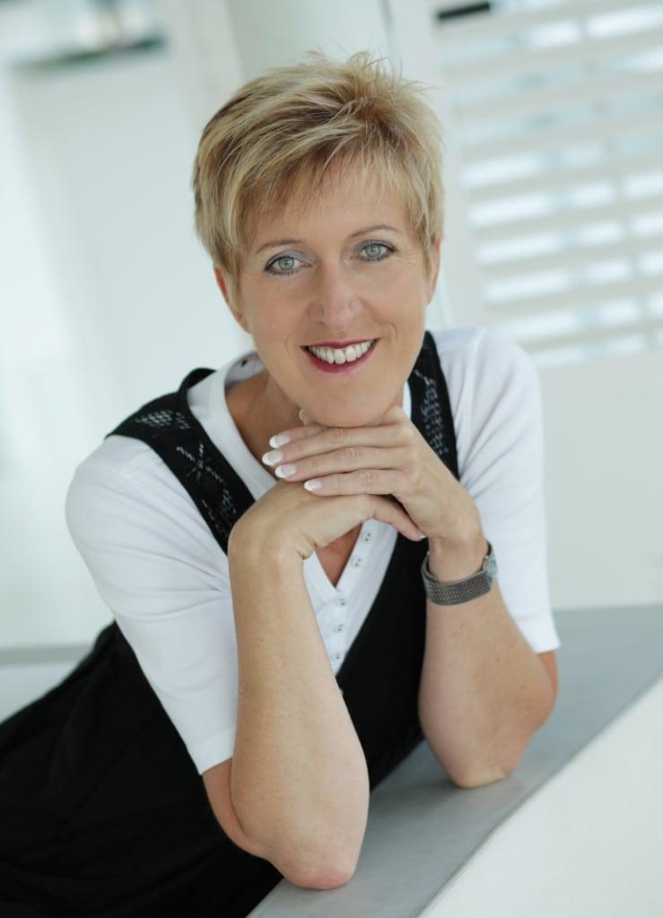 Frau Renate Plesch-Maierhofer im Biohotel Retter