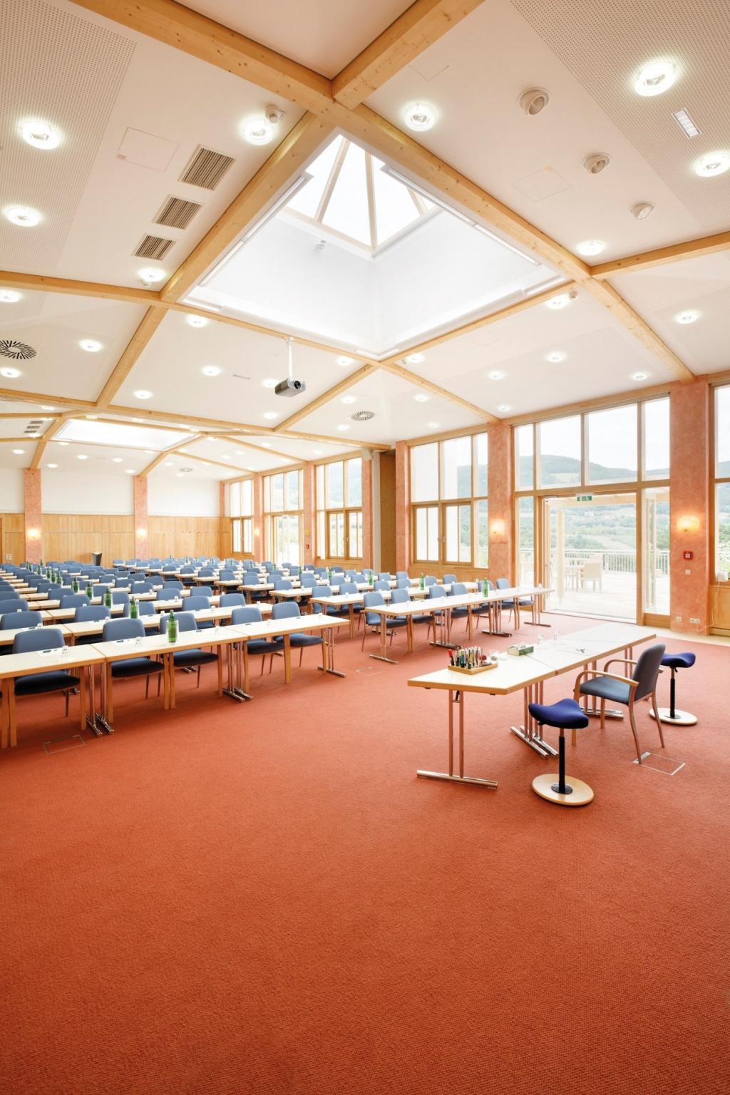 Vorderansicht von Seminarraum 14,15 Frischmuth Jelinek Seminarhotel Retter