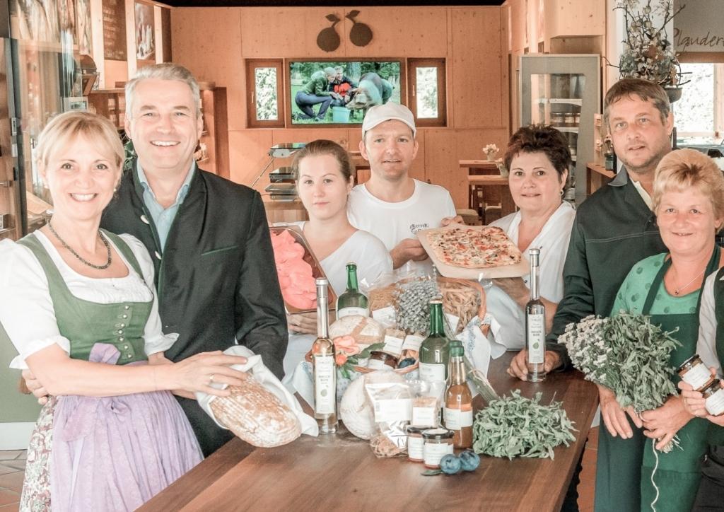 Gruppenfoto vom Team im Retter BioGut