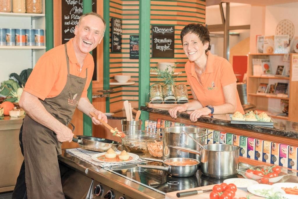 Vegan kochen mit Johann und Gabi Ebner von biochi