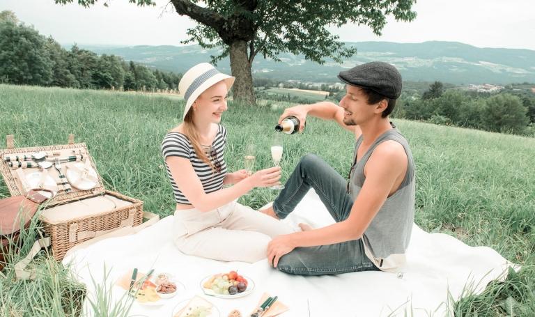 Genussurlaub mit Picknick