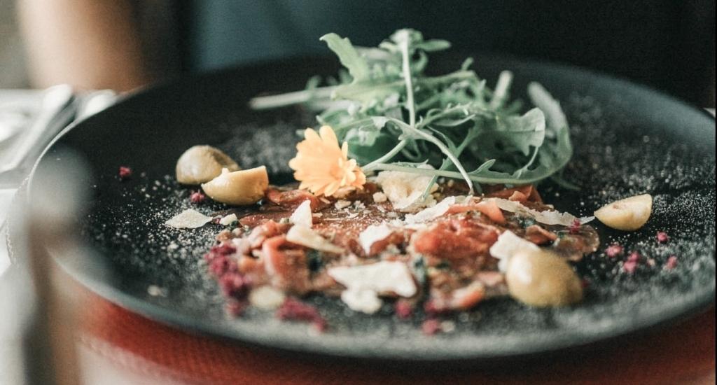Köstliche Vorspeise vom Biorestaurant Retter Genießen auch Take away.