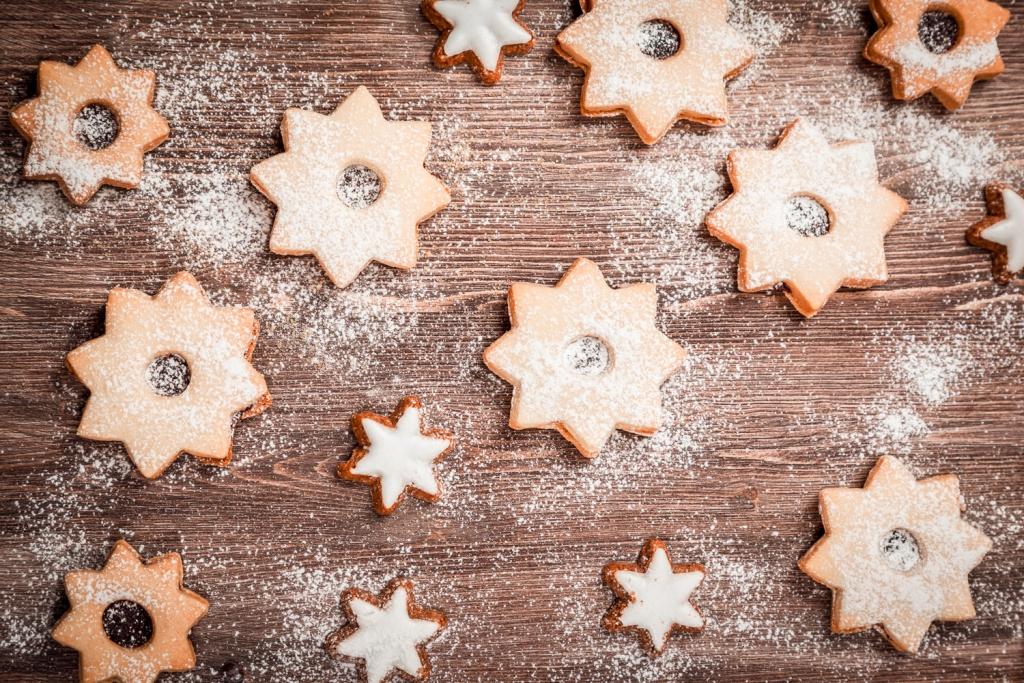 Weihnachtskekse vom Biorestaurant Retter