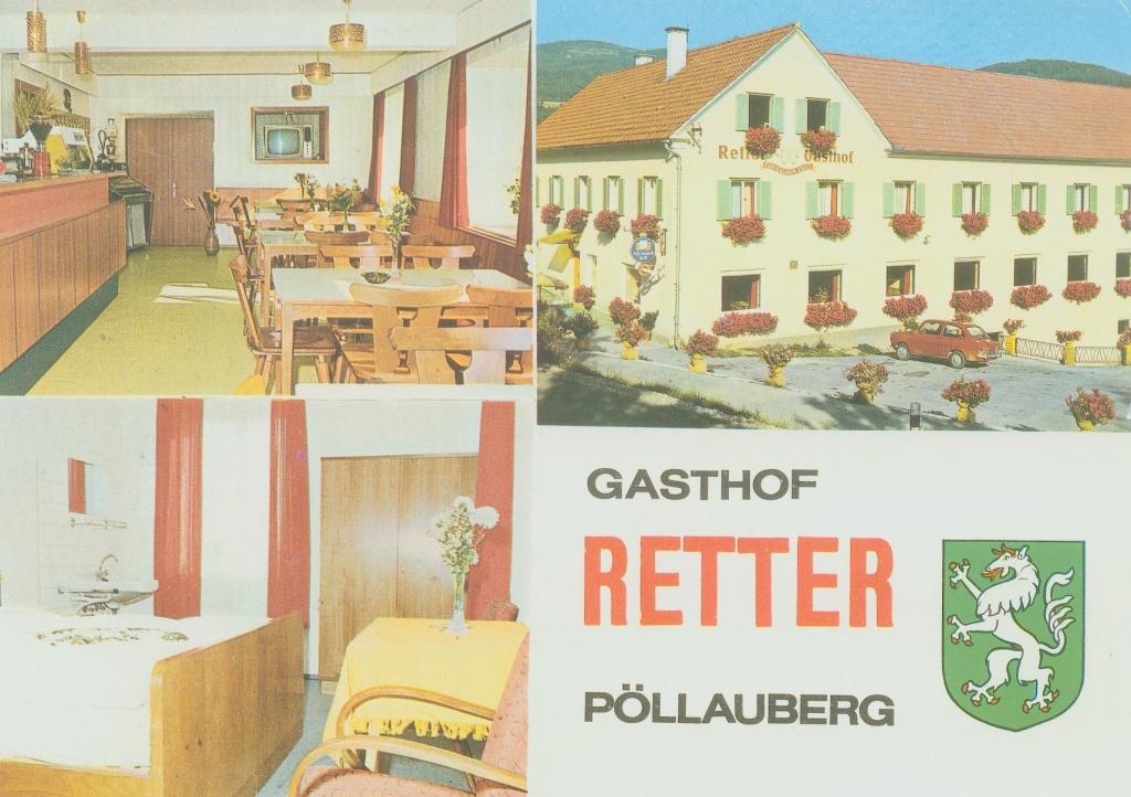 Postkarte vom Gasthof Retter 1963-1986