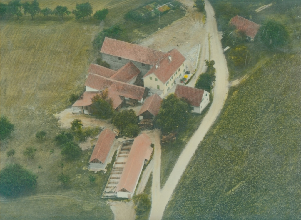 Luftbild vom Retter 1968