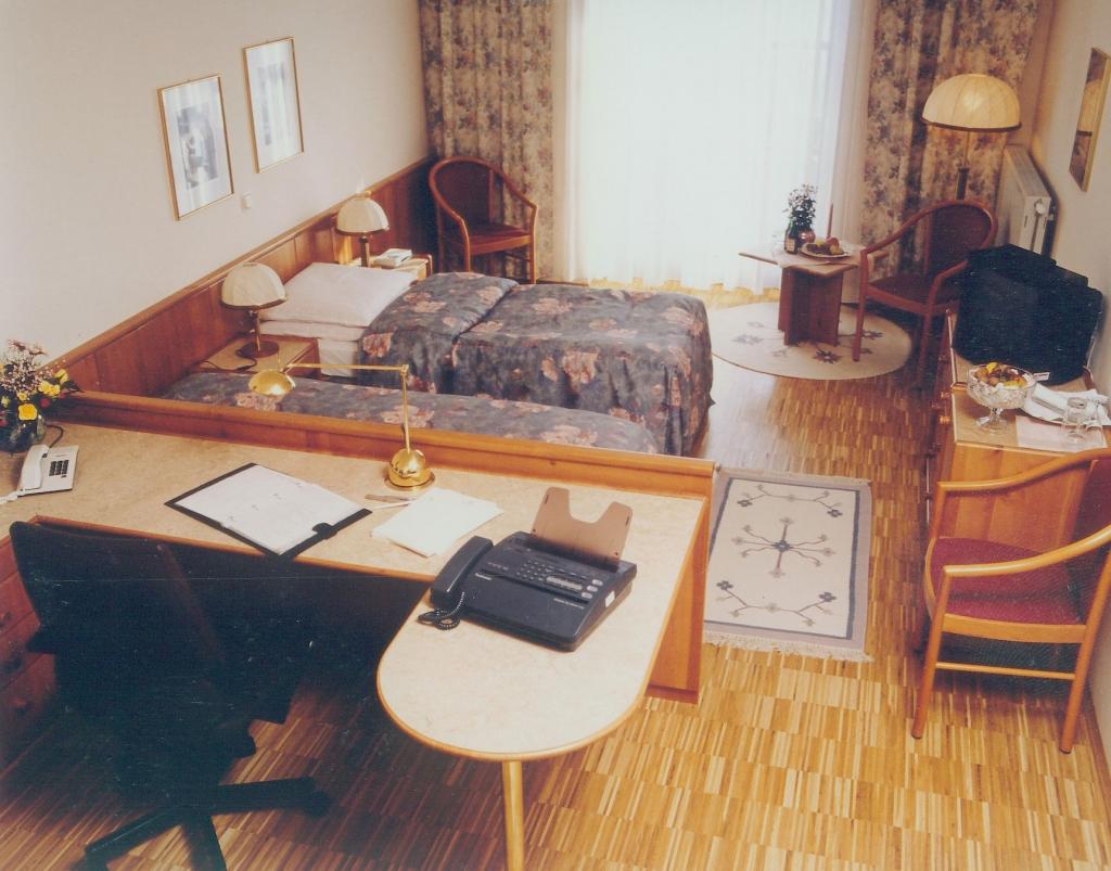 Bio-Vollholzzimmer von früher im Seminarhotel Retter