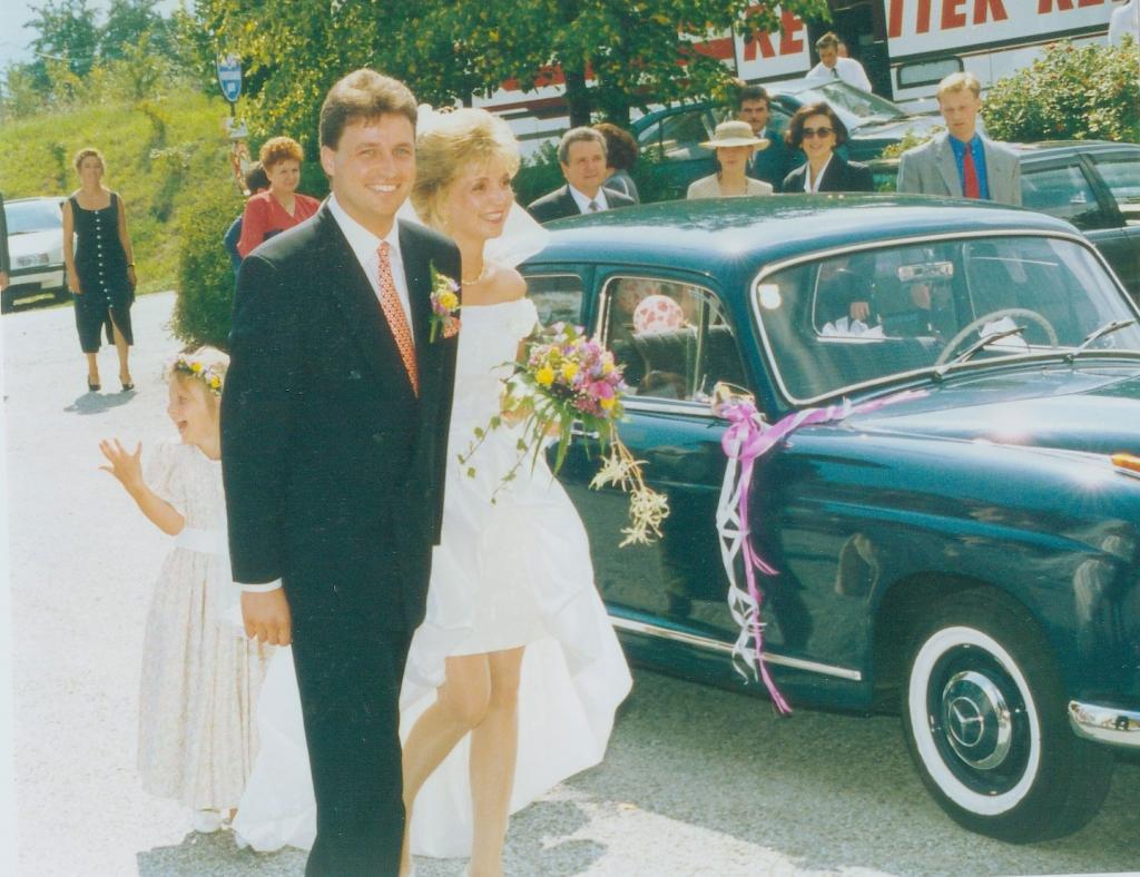 Hochzeit von Ulli und Hermann Retter