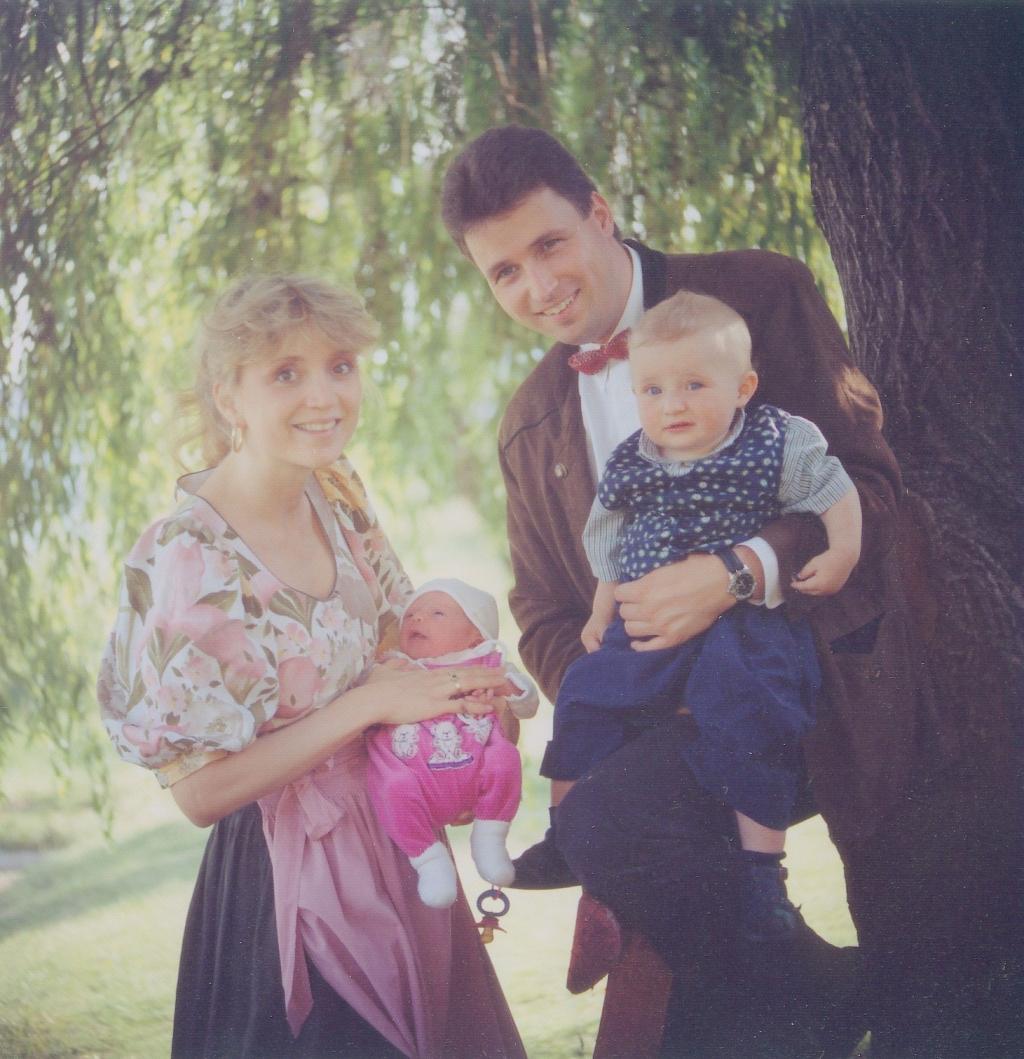 Familienbild der Retters
