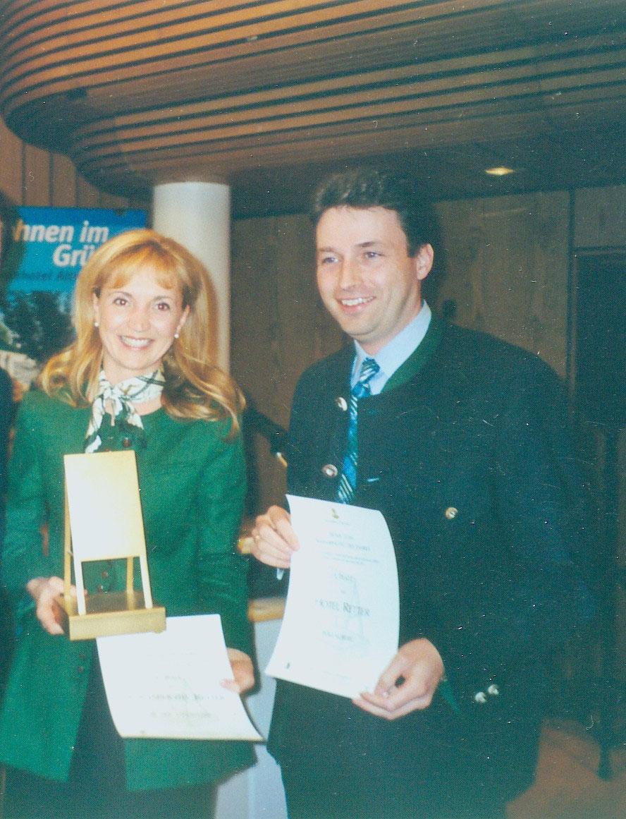 2003 Goldenes Flipchart Seminarhotel Retter