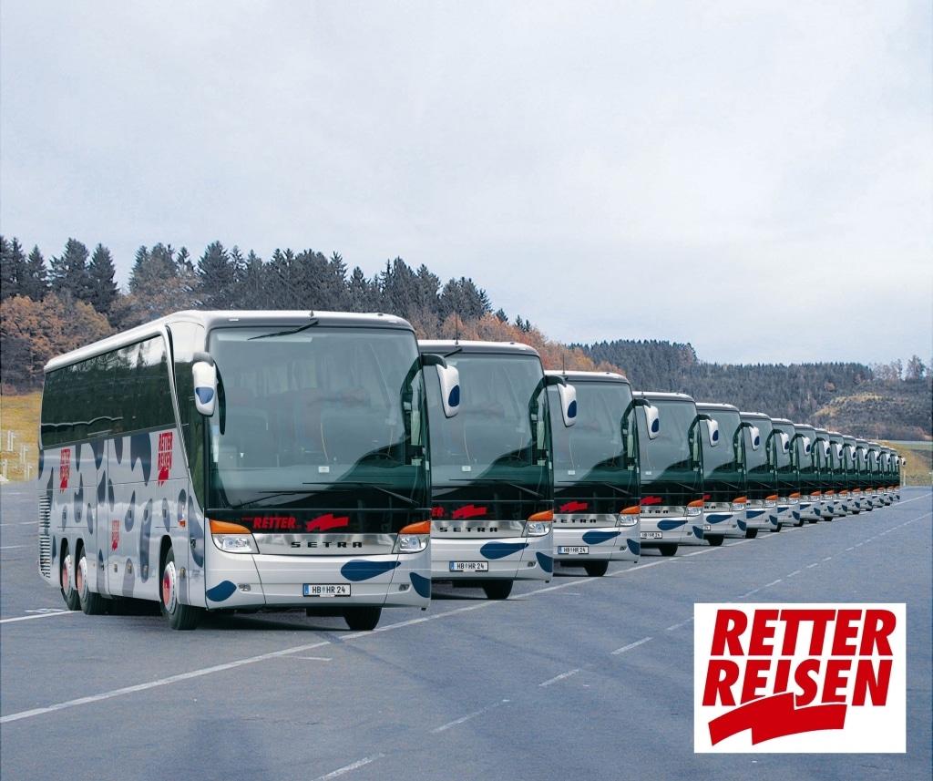 Busflotte 2005 Retter Reisen