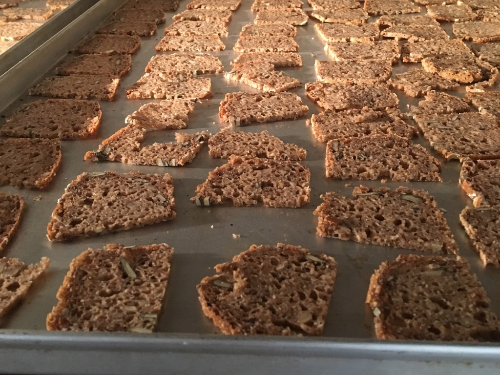 Brot Chips sind ideal um Bio-Brote zu verarbeiten.