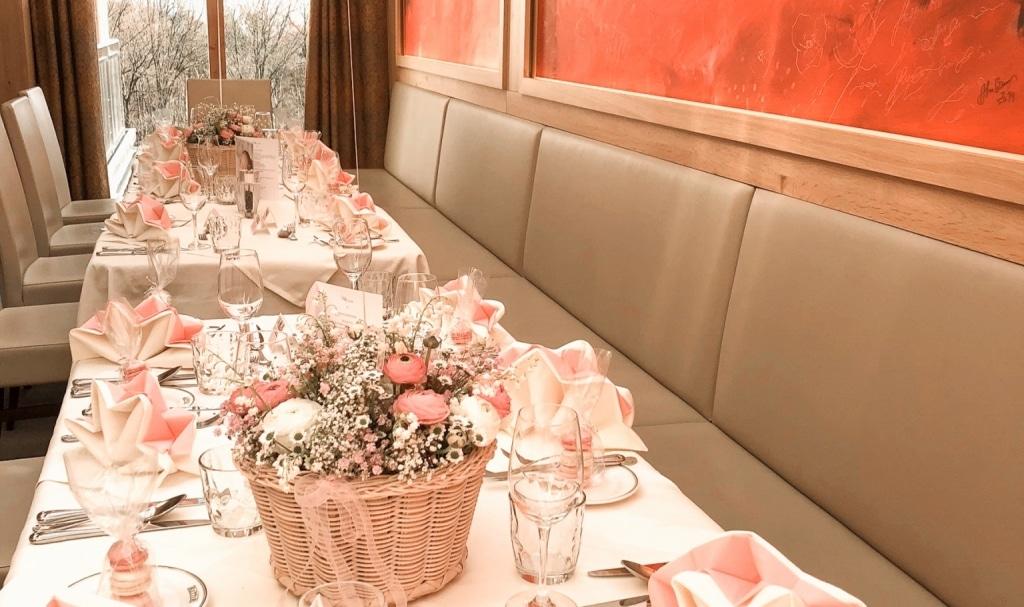 Hochzeit im Restaurant