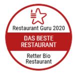Retter Bio-Restaurant wurde vom Restaurant Guru zum besten Restaurant ausgezeichnet