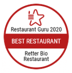 Awarded as best restaurant by Restaurant Guru