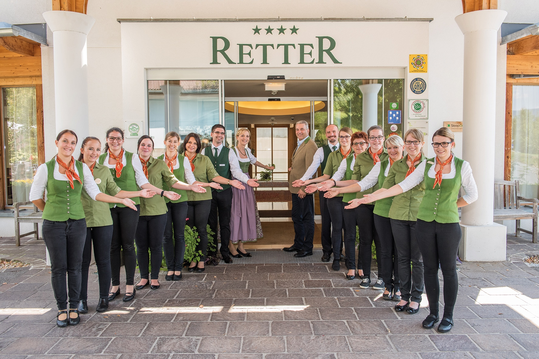 Herzlich Willkommen im Retter Bio-Natur-Resort dem nachhaltigsten Hotel Österreichs.