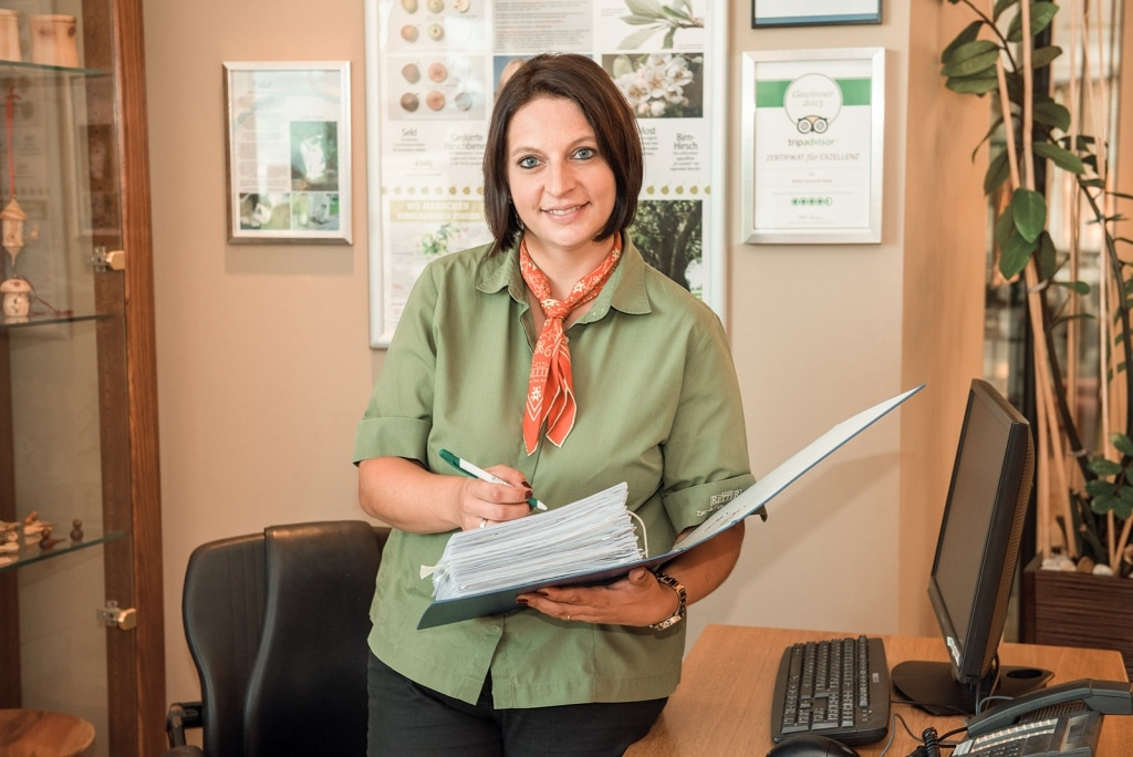 Christina Zapf Mitarbeiterin Hoteloffice Biohotel Retter