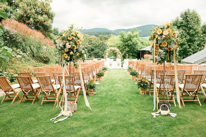 Hochzeit im Grünen beim Retter Bio-Natur-Resort