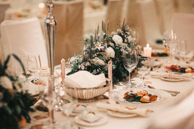 Hochzeitstisch im Retter Bio-Natur-Resort