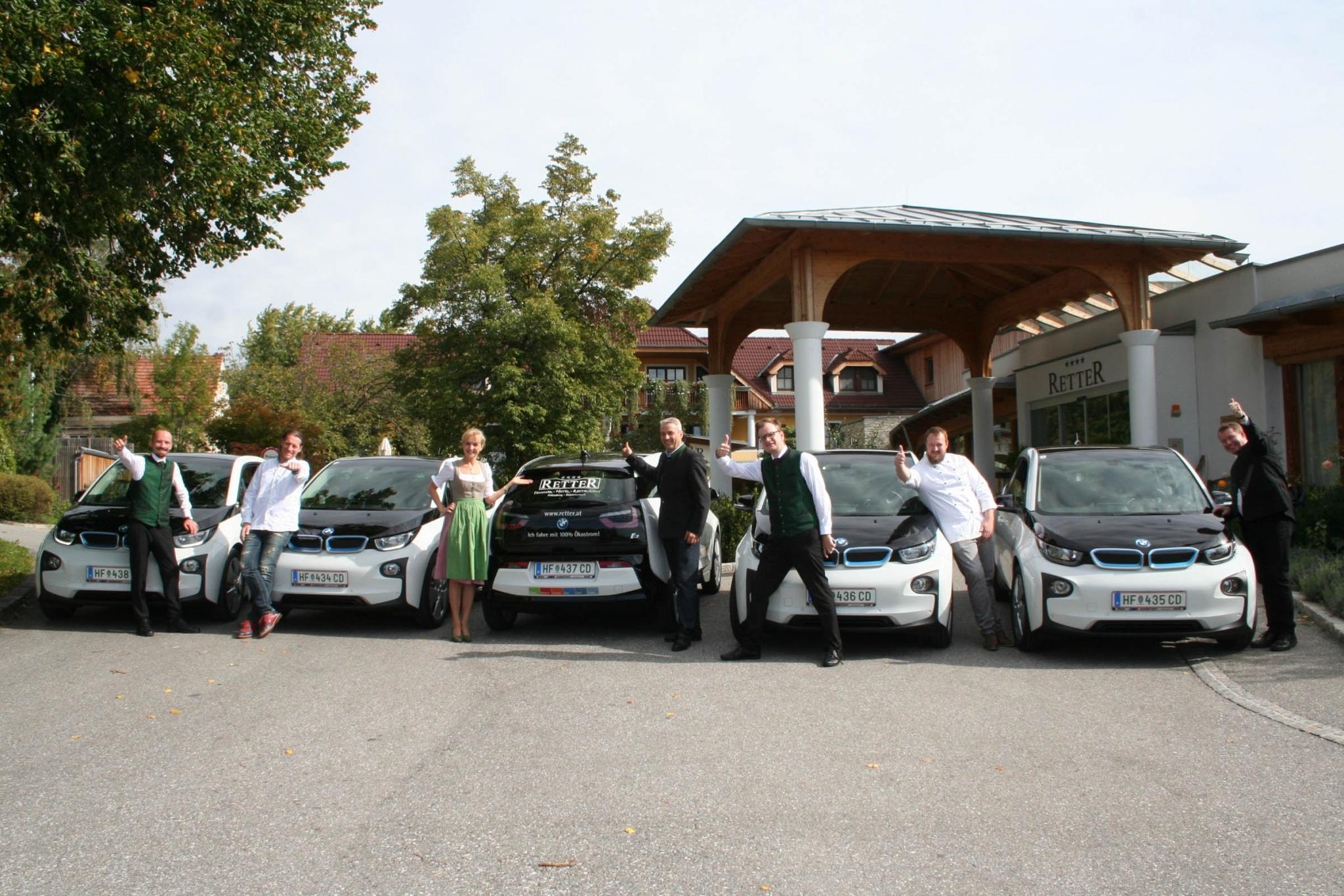 Elektromobilität im Retter Bio-Natur-Resort Steiermark